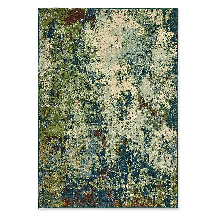 Alternate image 1 for Oriental Weavers Dawson Woven 9'10 x 12'10 Area Rug in Blue