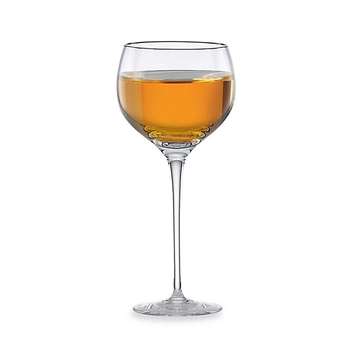 Alternate image 1 for Lenox® Solitaire™ Platinum Signature Wine Glass