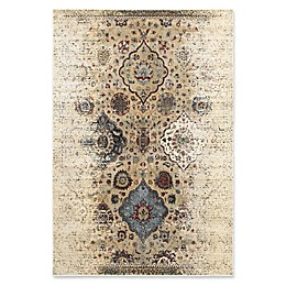 Oriental Weavers Empire Woven Area Rug in Ivory/Red