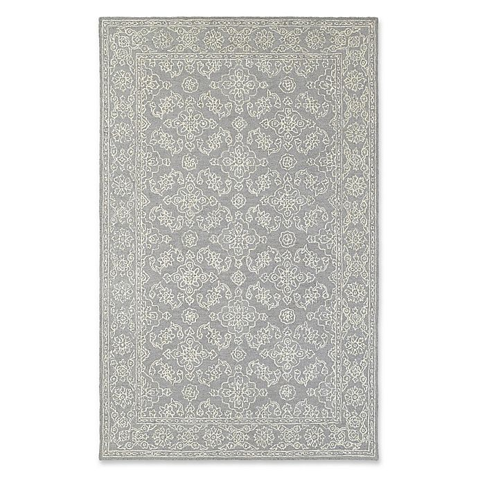 Alternate image 1 for Oriental Weavers Manor Floral 8' x 10' Area Rug in Grey