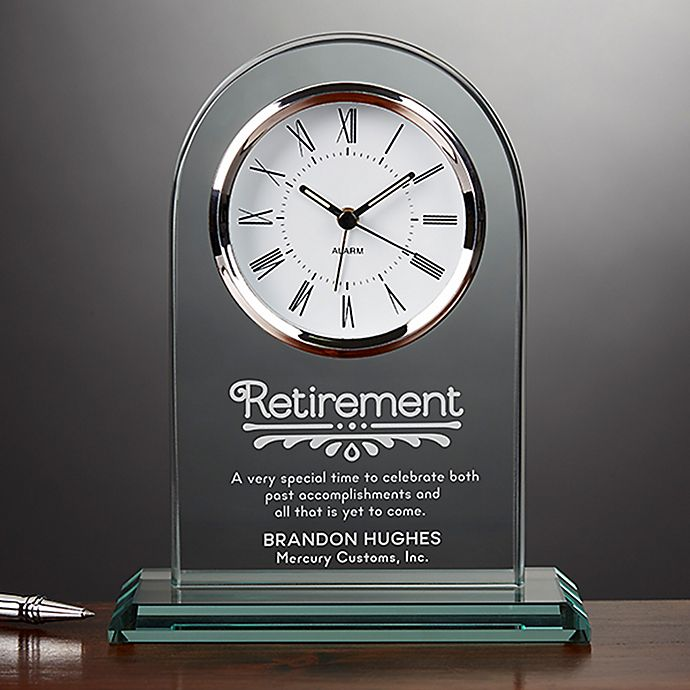 Alternate image 1 for Timeless Recognition Retirement Clock