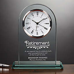 Timeless Recognition Retirement Clock