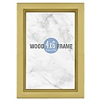 Gallery 4-Inch x 6-Inch Wood Frame in Gold