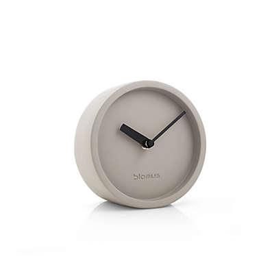 blomus® Round Concrete Desk Clock in Stone