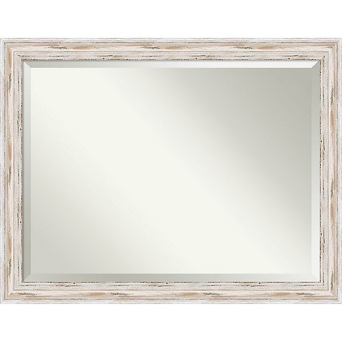 Alternate image 1 for Amanti Art Alexandria 45-Inch x 35-Inch Mirror in White