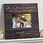 Rustic Elegance Wedding 5x7 Wall Frame