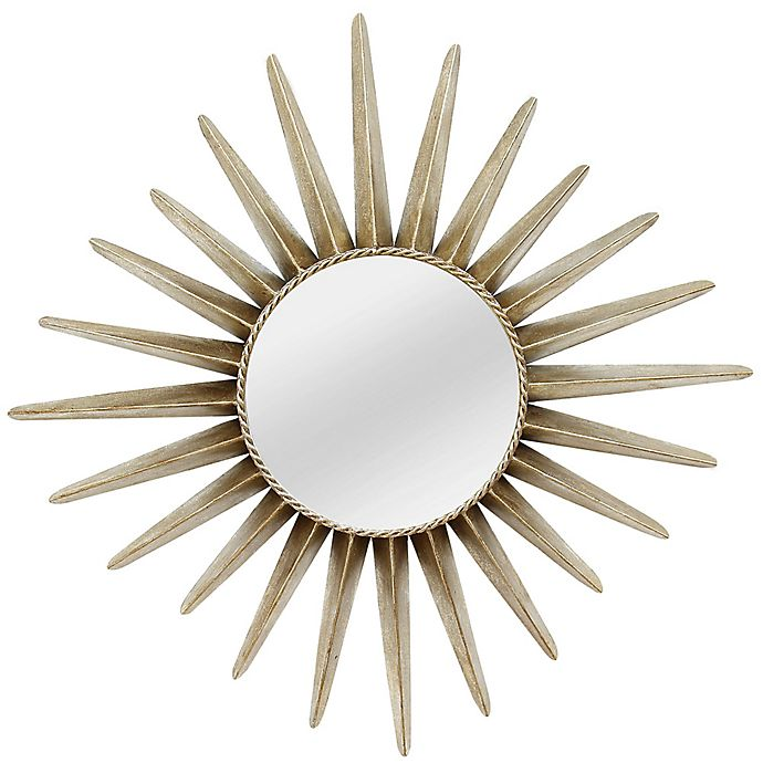 26 Inch Round Charlotte Wall Mirror In Bronze View A Larger Version Of This Product Image