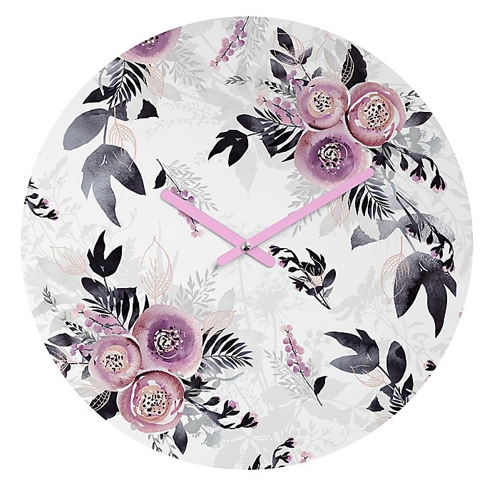 Alternate image 1 for DENY Designs Iveta Abolina Neverending August II 12-Inch Round Wall Clock