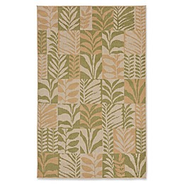 Liora Manne Box Leaves Meadow Rug