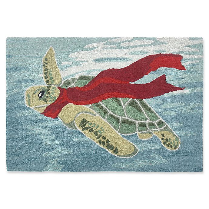 Buy Liora Manne Turtle Season 2' X 3' Handcrafted Indoor