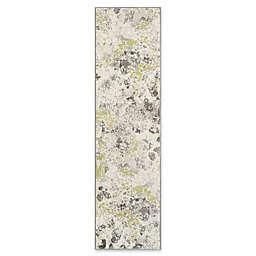 "Safavieh Watercolor 2'2"" x 8' Alexa Rug in Grey"