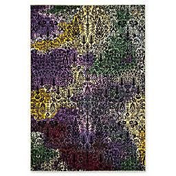 "Safavieh Watercolor 2'7"" x 5' Jude Rug in Light Yellow"