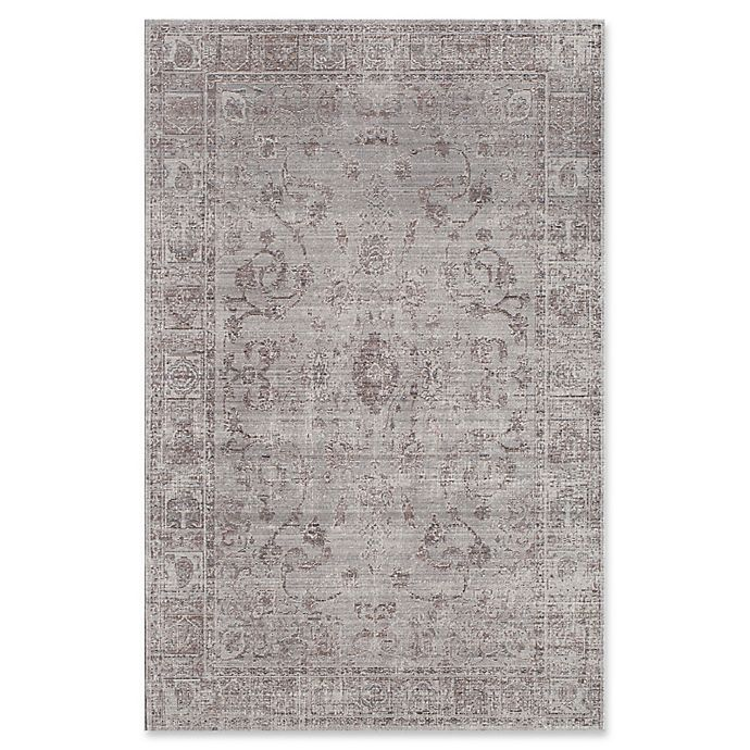 Alternate image 1 for Rugs America Asteria Floral 8' x 10' Area Rug in Grey