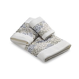 Croscill® Spa Tile Fingertip Towel