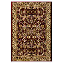 Rugs America New Vision Tabriz 7'10 x 7'10 Area Rug in Red