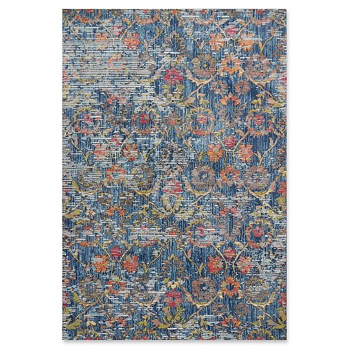 Alternate image 1 for KAS Dreamweaver Delaney 5'3 x 7'7 Area Rug in Blue