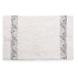 Croscill® Spa Tile 30-Inch x 20-Inch Bath Rug in White