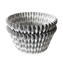 Cupcake Creations™ 32-Count Standard Silver Chevron Baking Cups