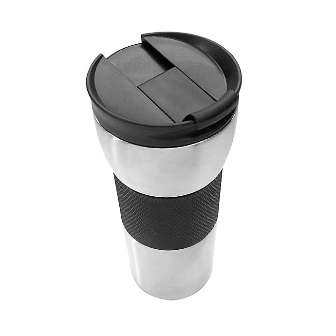 b1c5e54d29b Copco 16 oz. Double Wall Vacuum Stainless Steel Travel Mug | Bed ...