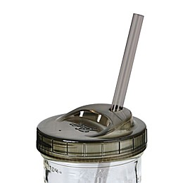 Ball® 4-Piece Mason Jar Sip N Straw Lids Set in Green