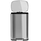 Alternate image 3 for halo??? Premium 50-Liter Stainless Steel Step Trash Can
