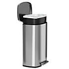 Alternate image 4 for halo??? Premium 50-Liter Stainless Steel Step Trash Can