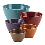 Rachael Ray™ Cucina Melamine 5-Piece Multicolor Nesting Measuring Cup Set in Multi