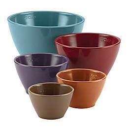 Rachael Ray™ Cucina Melamine 5-Piece Multicolor Nesting Measuring Cup Set in Multi