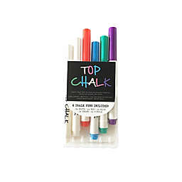 Top Chalk 6-Pack Liquid Chalk Markers in Multi