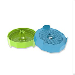 Bean Screen Lid for Wide Mouth Mason Jar (Set of 2)
