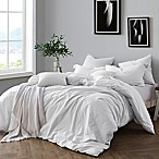 Swift Home Prewashed Yarn-Dyed Cotton King Duvet Cover Set in Ivory
