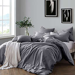 Swift Home Prewashed Yarn-Dyed Cotton Duvet Cover Set