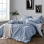 Swift Home Prewashed Yarn-Dyed Cotton King Duvet Cover Set in Chambray