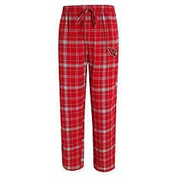 MLB St. Louis Cardinals Men's Flannel Plaid Pajama Pant with Left Leg Team Logo