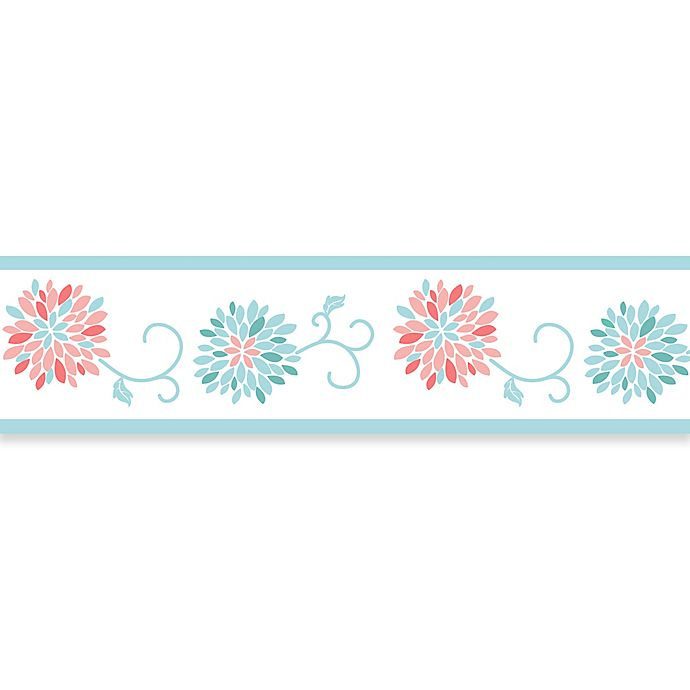 Sweet Jojo Designs 174 Emma Wallpaper Border Buybuy Baby