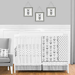 Sweet Jojo Designs® Mod Arrow Crib Bedding Collection in Grey/White