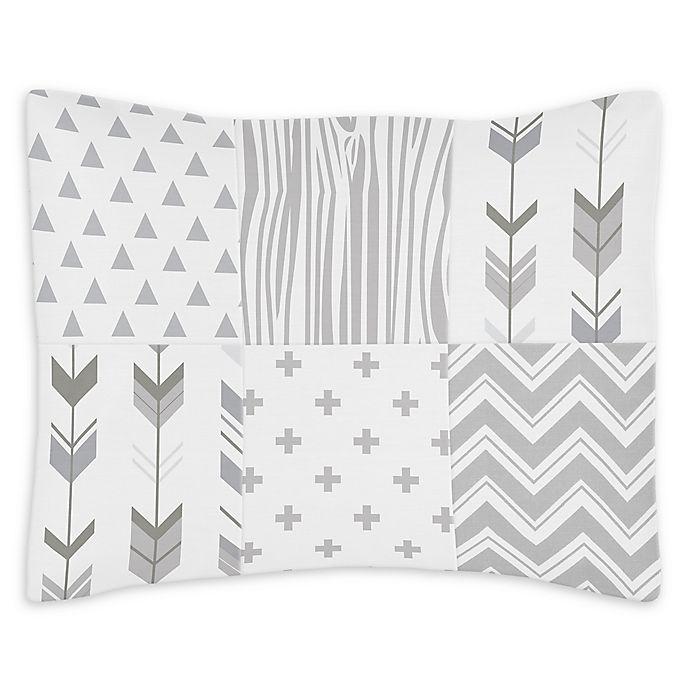 Alternate image 1 for Sweet Jojo Designs Woodsy Reversible Standard Pillow Sham