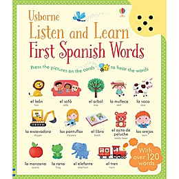 Usborne Listen and Learn: First Spanish Words by Sam Taplin