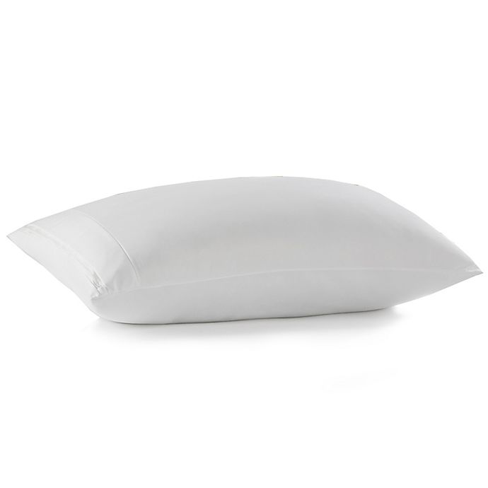 Alternate image 1 for PureCare® Rev Warm/Cool King Pillow Protector in White