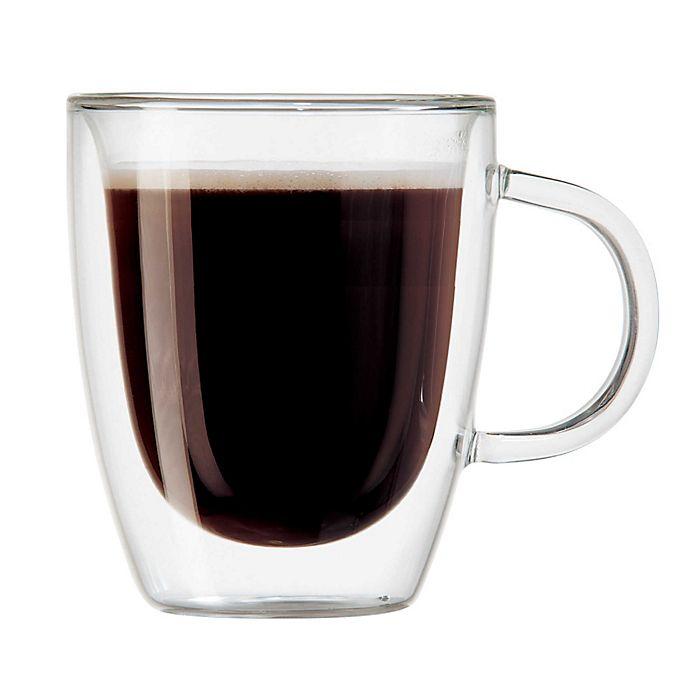 Alternate image 1 for OGGI™ Double Wall Glass Espresso Mugs (Set of 2)