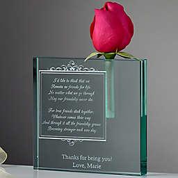 Friendship In Bloom Bud Vase