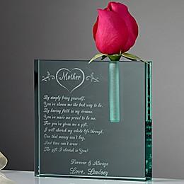Mother I Love Bud Vase
