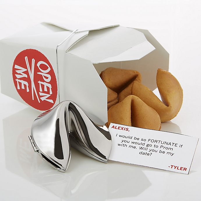 Alternate image 1 for Will You Be My Date Personalized Fortune Cookie