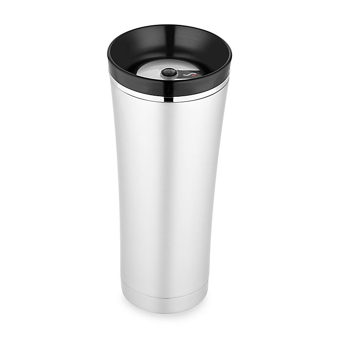 Alternate image 1 for Thermos® Sipp™ Vacuum Insulated Tumbler in Black