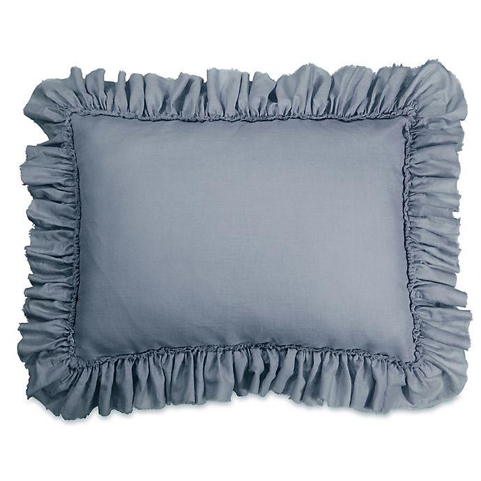 Alternate image 1 for Wamsutta® Vintage Gauze Ruffle Standard Pillow Sham