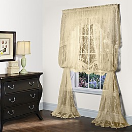 Mona Lisa Window Curtain Panels and Valances
