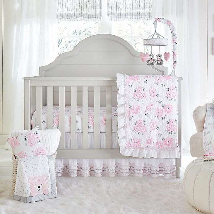 17 Adorable Ways To Decorate Above A Baby Crib: Wendy Bellissimo™ Mix & Match Crib Bedding Collection