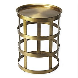 Butler Specialty Company Regis Iron Accent Table in Gold