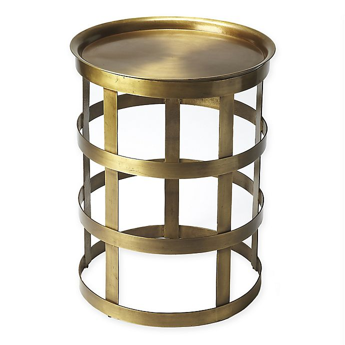 Alternate image 1 for Butler Specialty Company Regis Iron Accent Table in Gold
