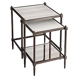 Butler Specialty Company Peninsula Accent Tables in Grey (Set of 2)